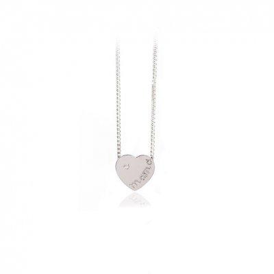 principal Collar FINOR GM-429B mujer oro blanco Diamante