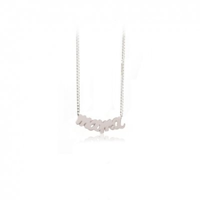 principal Collar FINOR GM-432B mujer oro blanco Diamante