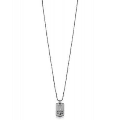 principal Collar Guess Plate giglio UMN70010 acero gris