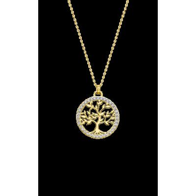 principal Collar LOTUS Silver TREE OF LIFE LP1746-1/2  mujer plata