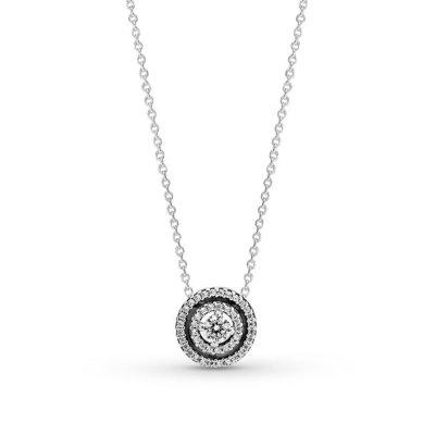 principal Collar Pandora 399414C01-45 doble halo brillante