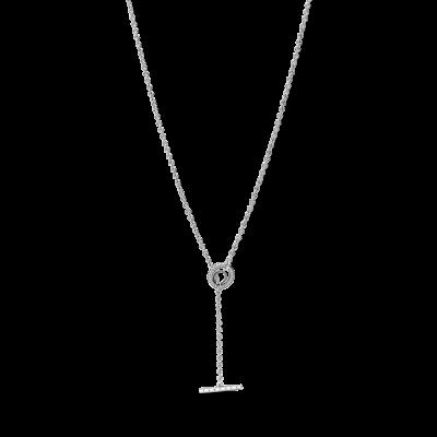 principal Collar Pandora Lasso Broche 399050C01-80 Plata primera ley Mujer