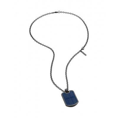 principal Collar POLICE PJ.26400PSUN-02 hombre azul