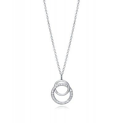 principal Collar Viceroy Clásica 5110C000-38 plata mujer