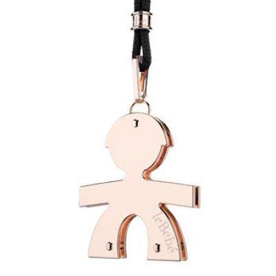 principal Cordón y colgante leBebé gioielli LBB040 Mujer Oro rosa Niño Nacimiento