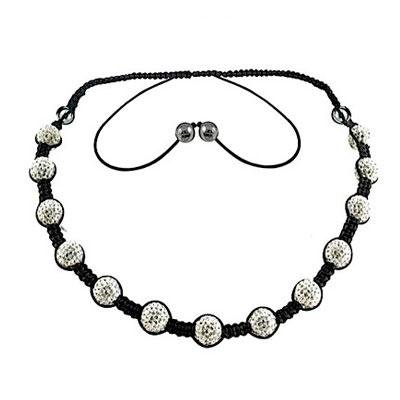 principal Cordón y colgante Tresor Paris 015388 Mujer Cristal Negro Orion
