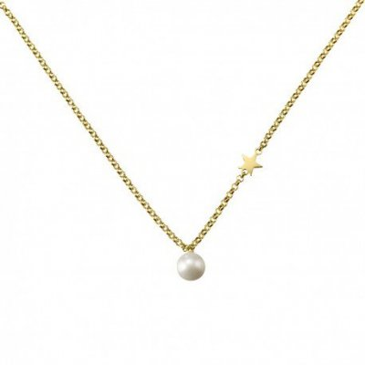 principal Gargantilla Estrella ARGYOR 3A8307301 mujer oro perla