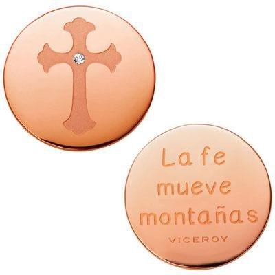 principal Medallón Plaisir Viceroy VMC0002-09 Mujer Acero Rosa Plaisir