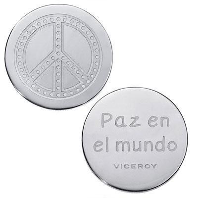 principal Medallón Plaisir Viceroy VMC0003-00 Mujer Acero Plateado Plaisir