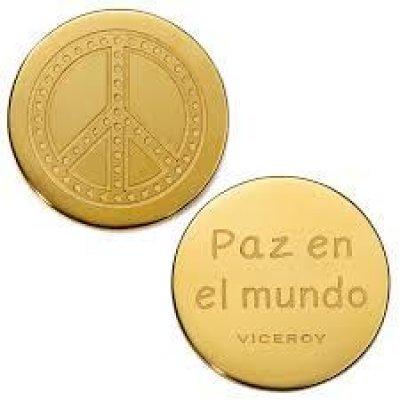 principal Medallón Plaisir Viceroy VMC0003-06 Mujer Acero Dorado Plaisir