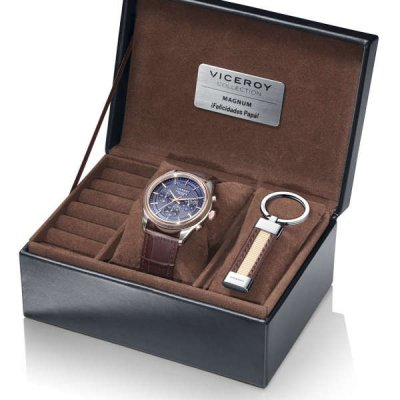principal Pack reloj+llavero Viceroy 401073-99 acero hombre