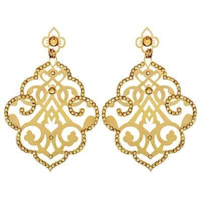 principal Pendientes Colgante Stroili 1509596 Mujer Metal Dorado