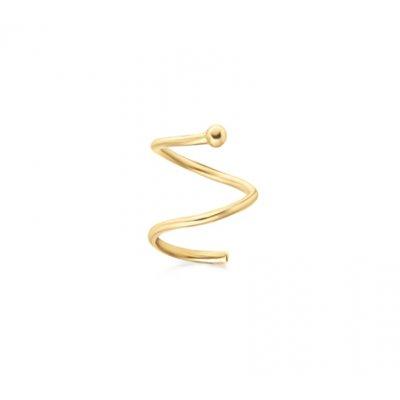 principal Pendientes Le Carré GB050OA.00 Spiral mujer oro 18k