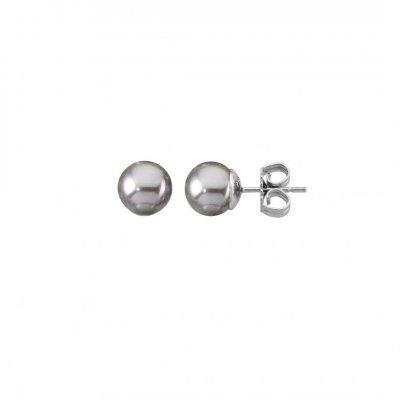 principal Pendientes Majorica Lyra 00324.06.2.000.701.1 plata y perlas