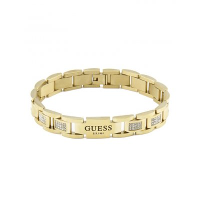 principal Pulsera Guess Curb UMB79005 acero mujer dorado