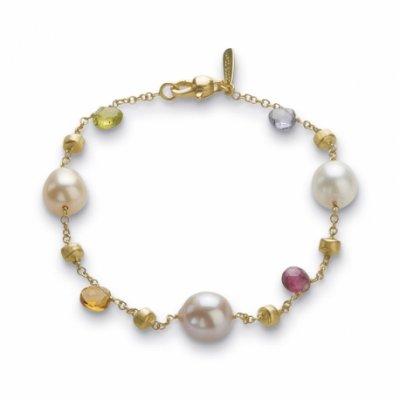 principal Pulsera Marco Bicego BB893-MIX114 mujer oro 18 Kilates perlas