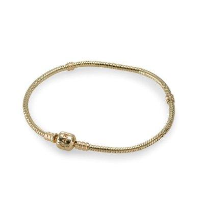 Pulsera pandora 550702 19 mujer oro dorado inscripci n for Pandora jewelry amarillo tx