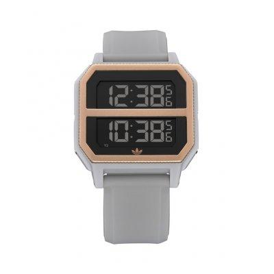 principal Reloj adidas Archive_R2 Clear Granite / Coppe Z163272-00 unisex gris