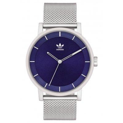 principal Reloj adidas District_M1 Silver / Navy Sunray Z042928-00 unisex azul