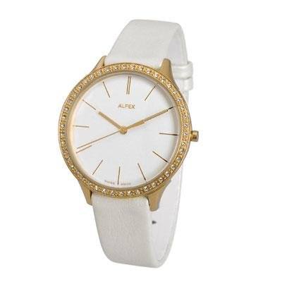 principal Reloj Alfex 5644-781 Mujer Blanco Cuarzo Analógico