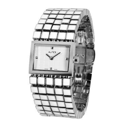 principal Reloj Alfex 5690-830 Mujer Blanco Cuarzo Armis
