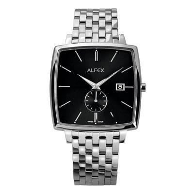 principal Reloj Alfex 5704-002 Hombre Negro Cuarzo Armis