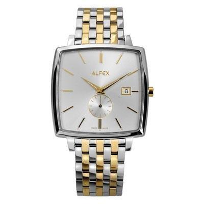 principal Reloj Alfex 5704-041 Hombre Plateado Cuarzo Armis