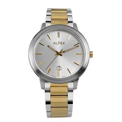 principal Reloj Alfex 5713-484 Hombre Plateado Cuarzo Armis