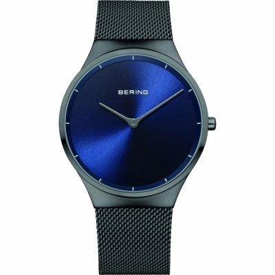 principal Reloj Bering 12138-227 hombre acero negro