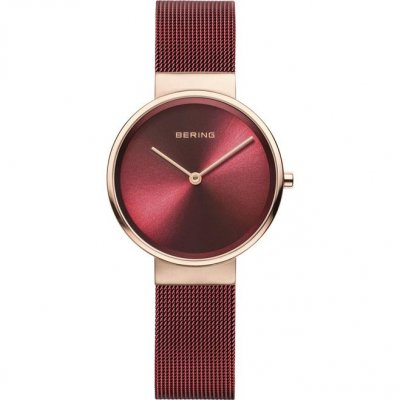 principal Reloj Bering 14539-363 Mujer oro rosa acero.
