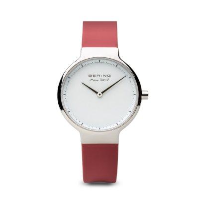 principal Reloj Bering 15531-500 Mujer acero silicona.