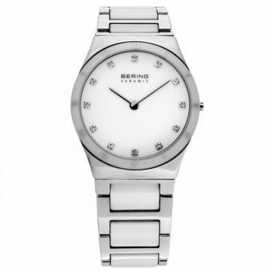 principal Reloj Bering 32230‐764 Mujer Blanco Ceramic Collection Cuarzo