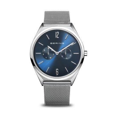 principal Reloj BERING Ultra Slim 17140-007 Unisex azul
