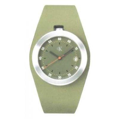 principal Reloj Calvin Klein K16111.63 Unisex Verde Cuarzo Analógico
