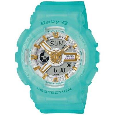 principal Reloj Casio Baby-G BA-110SC-2AER Mujer Azul Silicona