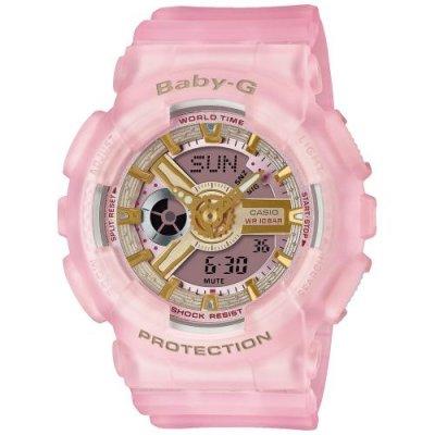 principal Reloj Casio Baby-G BA-110SC-4AER Mujer rosa Silicona