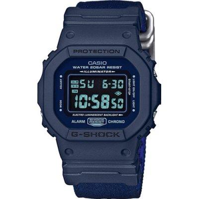 fff1dfeb7054 Reloj Casio G-Shock DW-5600LU-2ER Hombre Azul Calendario - Joyería  Francisco Ortuño
