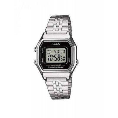 principal Reloj Casio Retro LA680WEA-1EF Cuarzo Mujer Negro Alarma