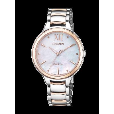 principal Reloj Citizen acero EM0556-87D Lady 0530 zafiro