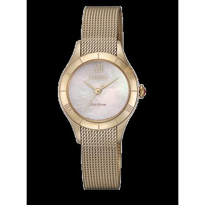 principal Reloj Citizen acero EM0783-85D Lady 078 zafiro
