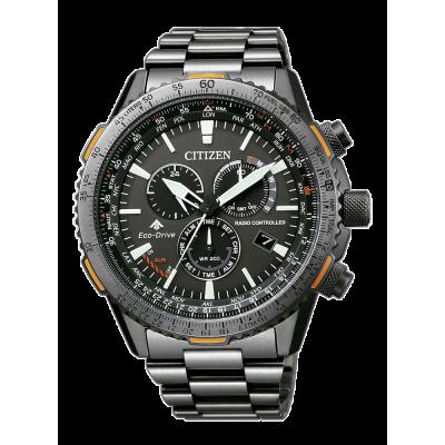principal Reloj Citizen Crono Pilot E660 CB5007-51H Eco-Drive hombre