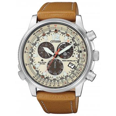 principal Reloj Citizen Radiocontrol CB5860-35X Crono Pilot E660 Eco-Drive