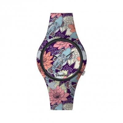 principal Reloj Doodle Fish Mood DO39005 mujer multicolor