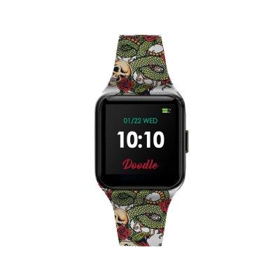 principal Reloj Doodle Smartwatch DOSW004 unisex silicona