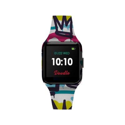 principal Reloj Doodle Smartwatch DOSW013 unisex silicona