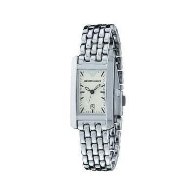 610c7cf2110c Reloj Emporio Armani AR0102 Mujer Blanco Rectangular Armis - Joyería  Francisco Ortuño