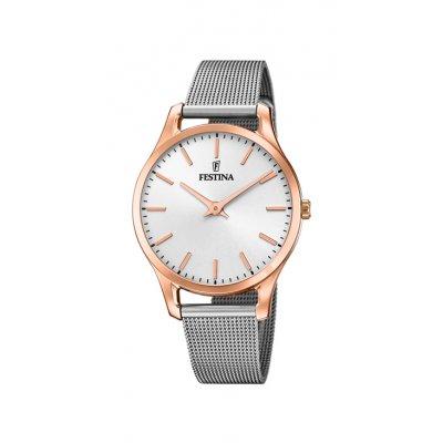 principal Reloj Festina Boyfriend F20507/1 mujer IP rosado
