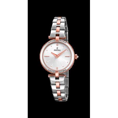 principal Reloj Festina F20308/2 mujer acero bicolor.