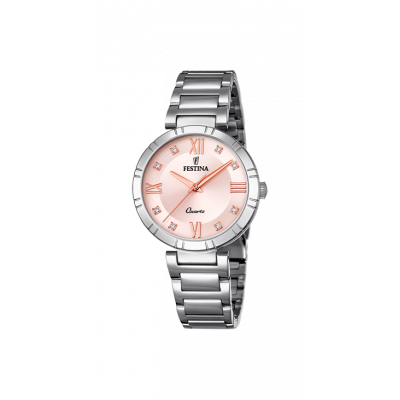 principal Reloj Festina MADEMOISELLE F16936/C mujer acero.