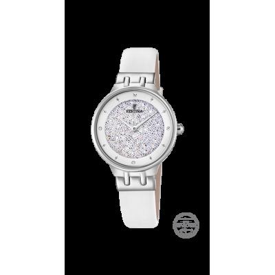 principal Reloj Festina MADEMOISELLE F20404/1 Mujer Piel Acero